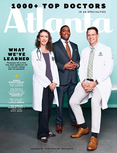Atlanta Magazine 2021 Cover
